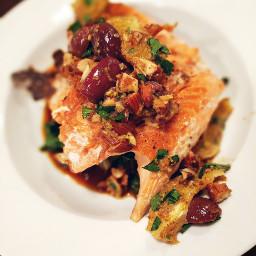 seafood salmon gourmet citrus dinnerfortwo