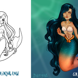 mermaidmelody painting