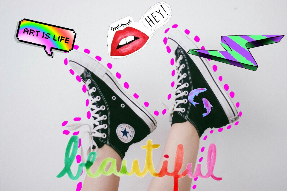 #shoes #cool #colorful
