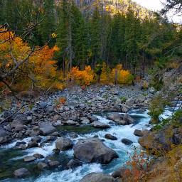 autumn river hikingadventures wanderlust pnw