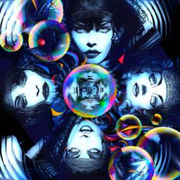 myoriginalwork originalart colorful womenportrait muse ectinyplanet ecupsidedown eccolorfulkaleidoscope freetoedit colorfulkaleidoscope