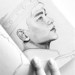 soohyun kimsoohyun actor art fanart