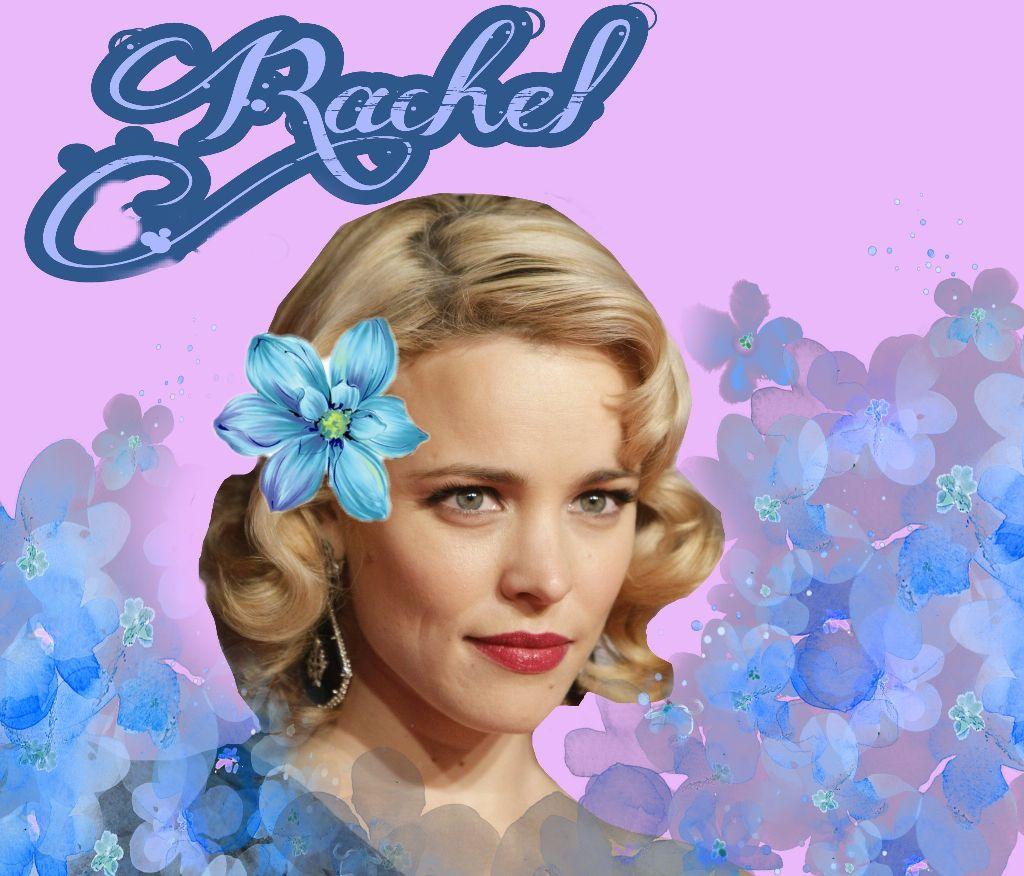 #rachelmcadams #flowers #blue #pretty