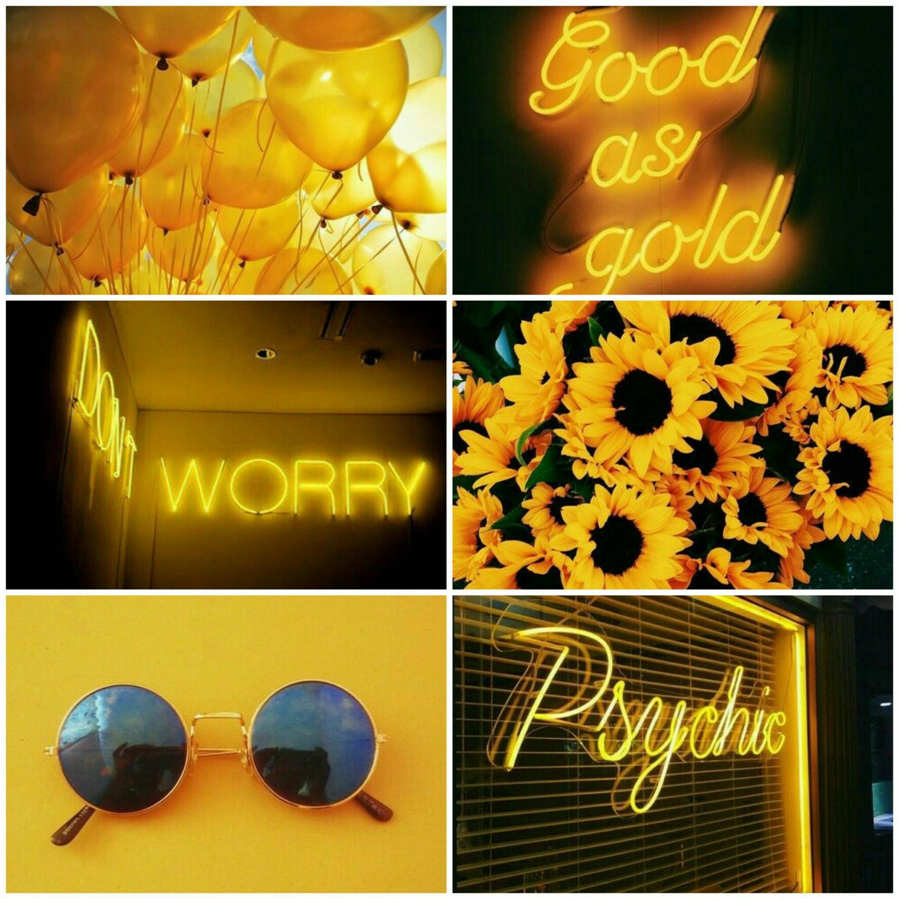 sunflower aestheticyellow aesthetic aesthetics neon yel