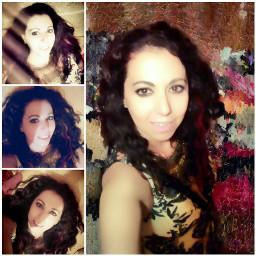 selfie woman style greece