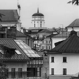 minskcity ратуша city oldcity monochromephotography