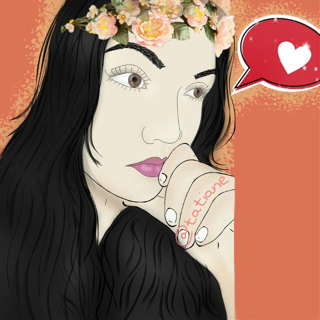 #myfriend#cute#draw#art#madewithpicsart#beautiful#girl#love #lovenails #fashion #lovefashion #like4like #love_natura #lovebirds