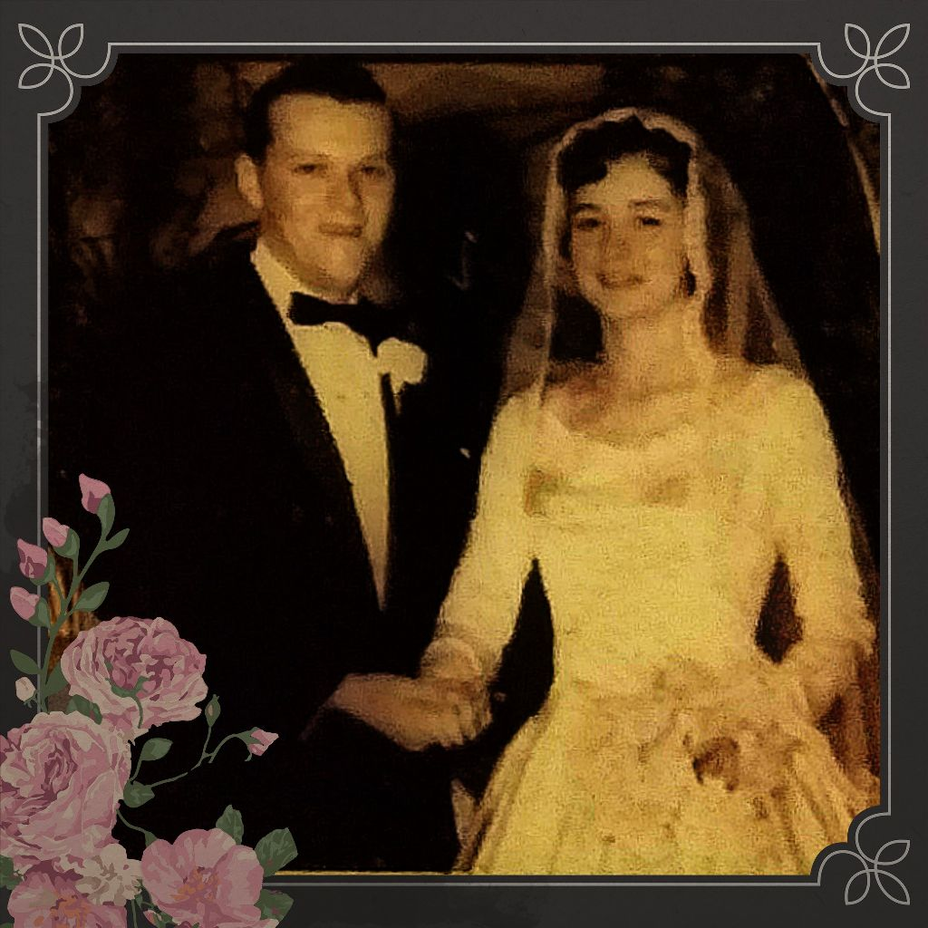 #vintagephoto #momanddad #wedding #truelove #vintageframes #nov241963 #parents #family #photography