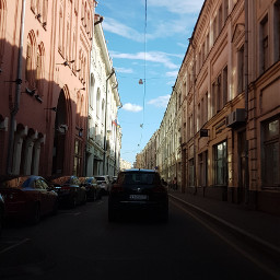 moscow summer city photography