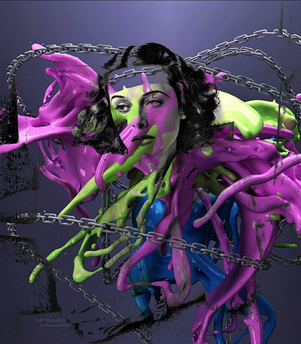 #hedylamarr #hedylamarrremix #edited #colors #actress #diva #wifi