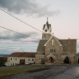 church cloudy