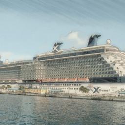 photography travel ship pastel smartblur