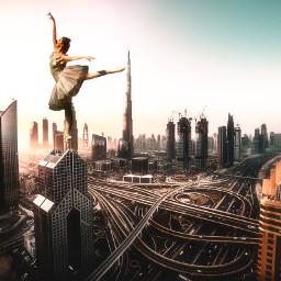 freetoedit dancing city