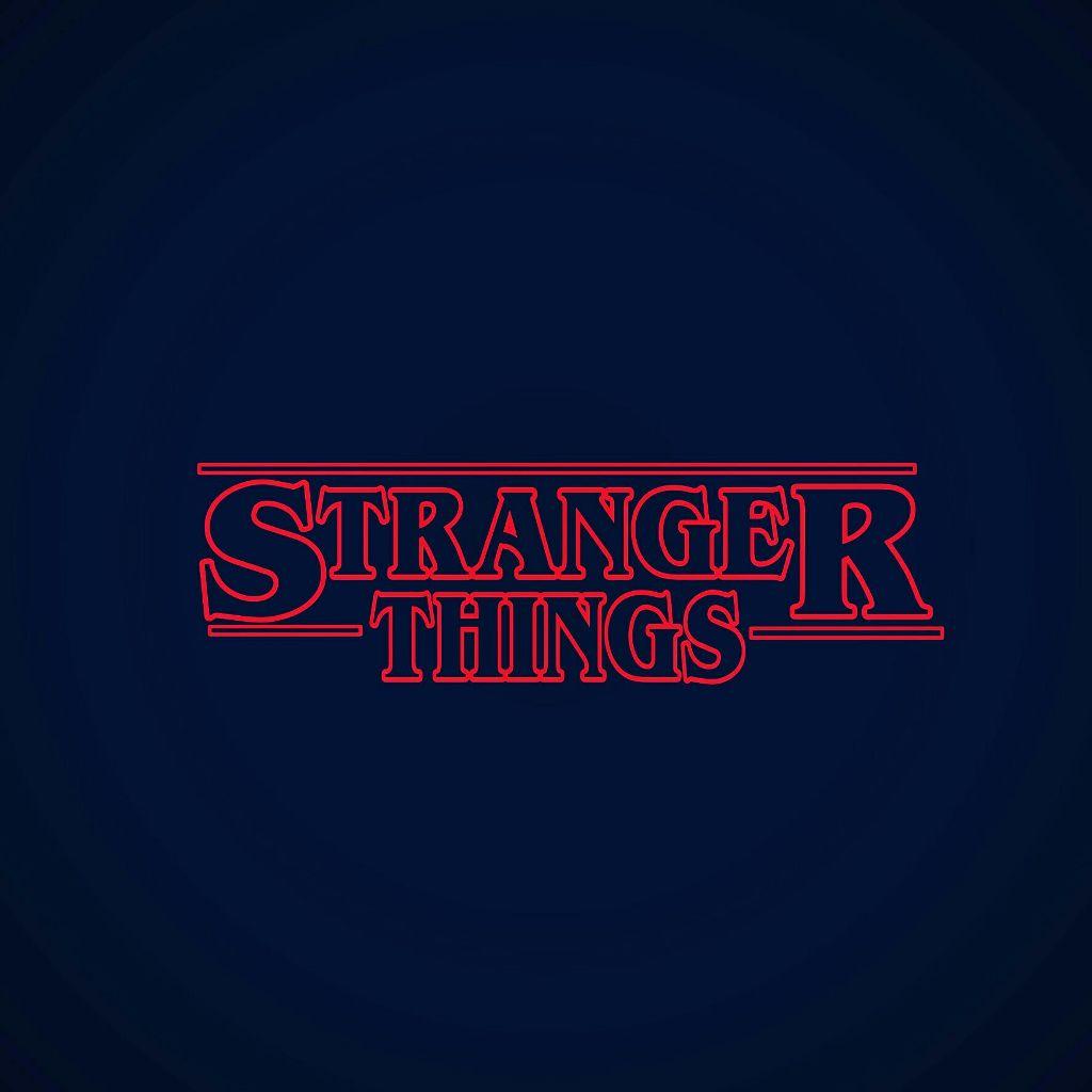 Stranger Things Logo Vector