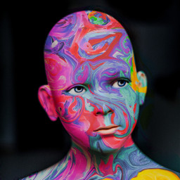 freetoedit faceid colorpainting painting face