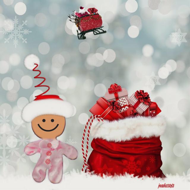 #dailyremix #gingerbreadman #santaclaus#presents #christmas