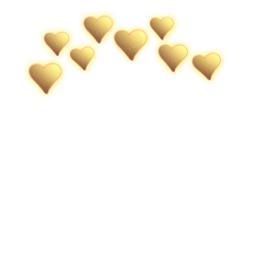 freetoedit gold goldcrown crown heart