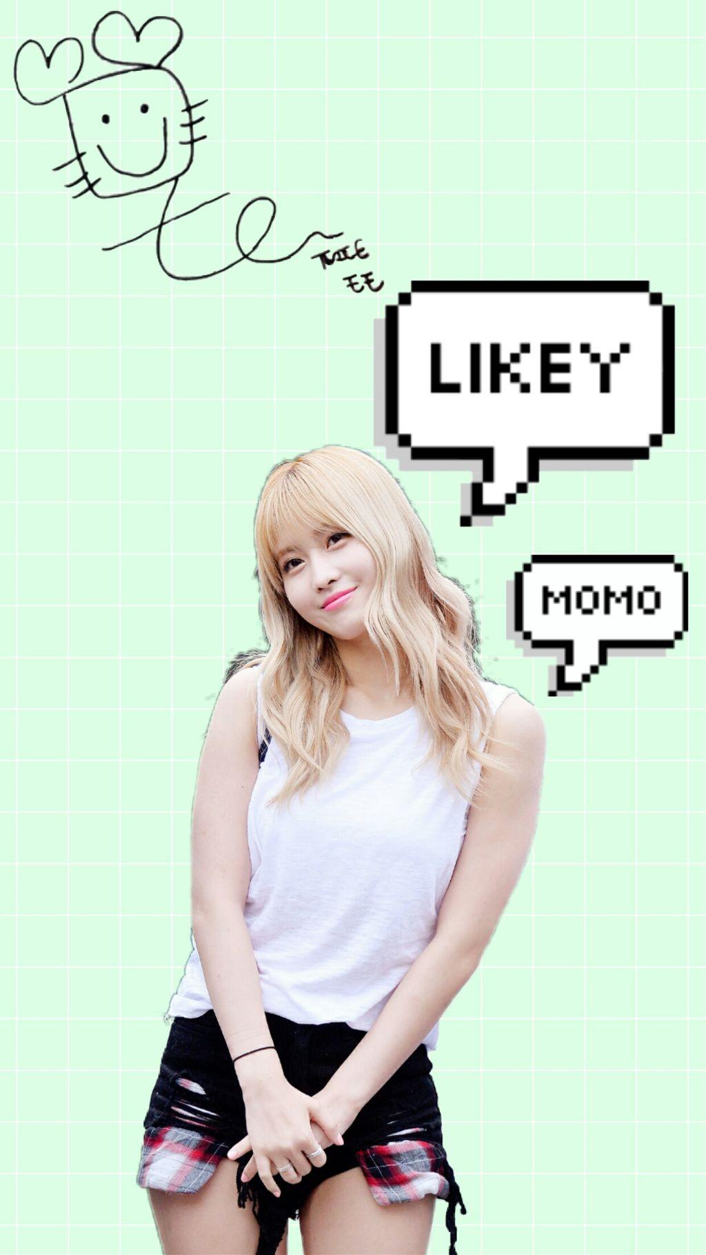 Likey Momo Wallpaper Image By Cutie In Braces