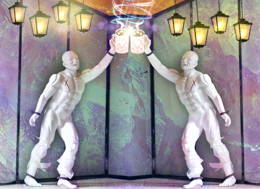 #dailysticker #mirroreffect #lanternstickers #statue #cocoastickerremix