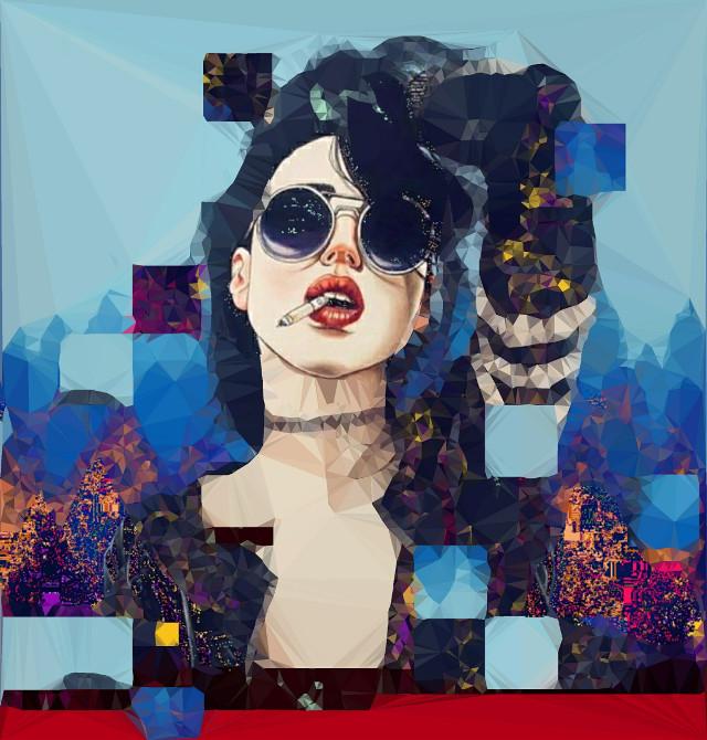 #harumihironaka #popsurrealism #smoke