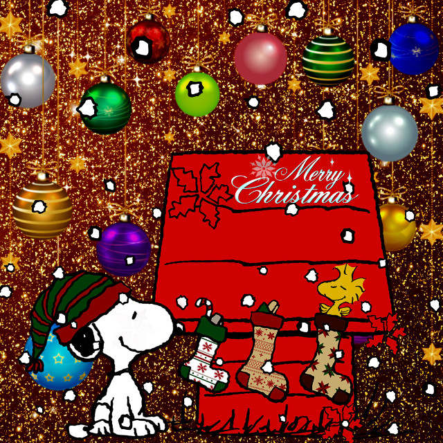 #Snoopy  #snow #Woodstock #Peanuts #Christmas #MerryChristmas