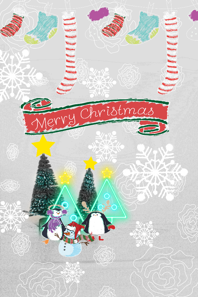 #minipinguin #christmastree #joy #l4l #lfl #tfl #enjoypocture #decoration #cute #minitree