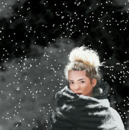 mydrawing dcwinterstyles winter snow realisticpainting dc2018portrait freetoedit
