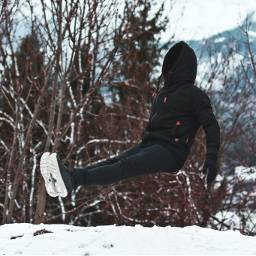 levitation moodygrams portraitgames winter snow freetoedit