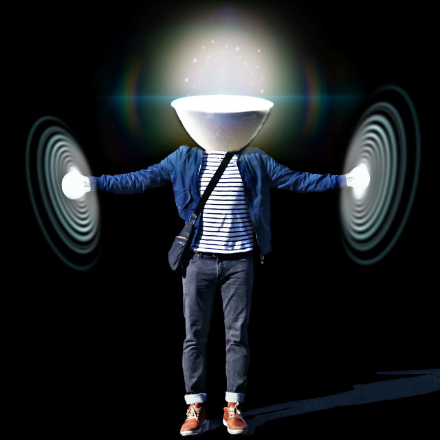 #lamp #man #light #surreal #myedition    Thank you for the fte and the stickers everyone 💌