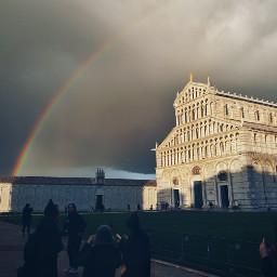 traveltreasures italy rainbow madewithpicsart