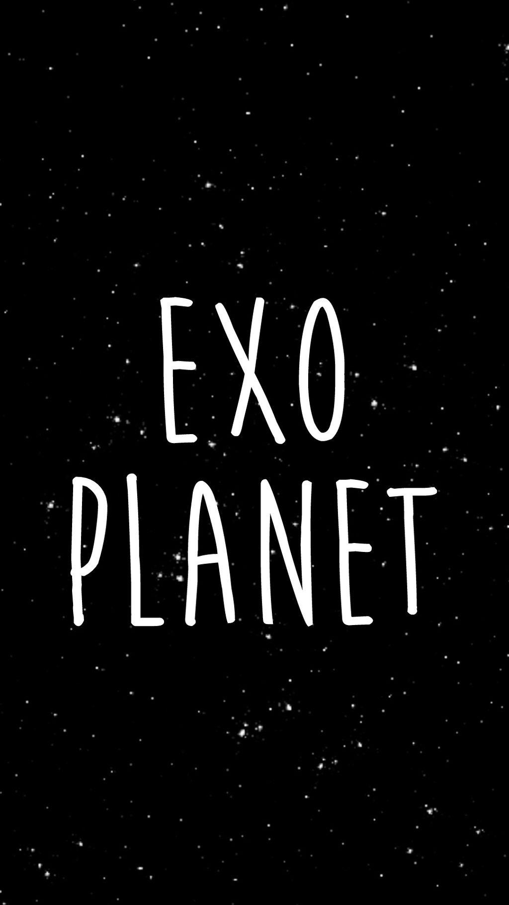 Exo Planet Wallpaper Black Stars Xiumin Suho Lay Chen