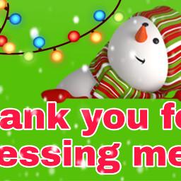 snowman thankyou christmaslights christmasstickers supercute freetoedit