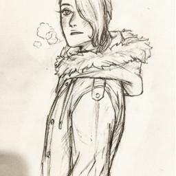 sketch oc sammitoons illustration traditionalart