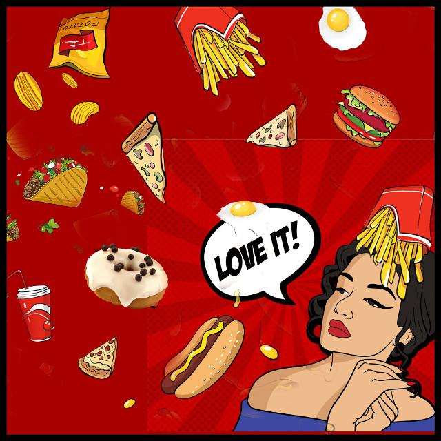 #fooddoodle #junkfood