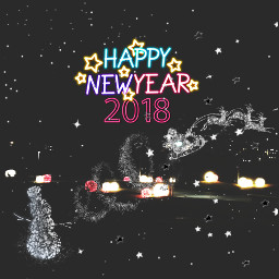 freetoedit happy newyear 2018