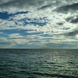 greece sky sea clouds cloudysky