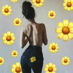 freetoedit flowers stickers