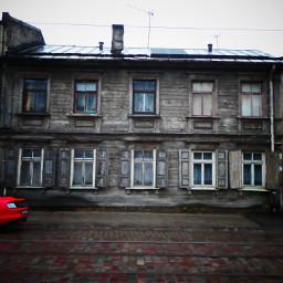 streets house contrast riga latvia pclifestyle