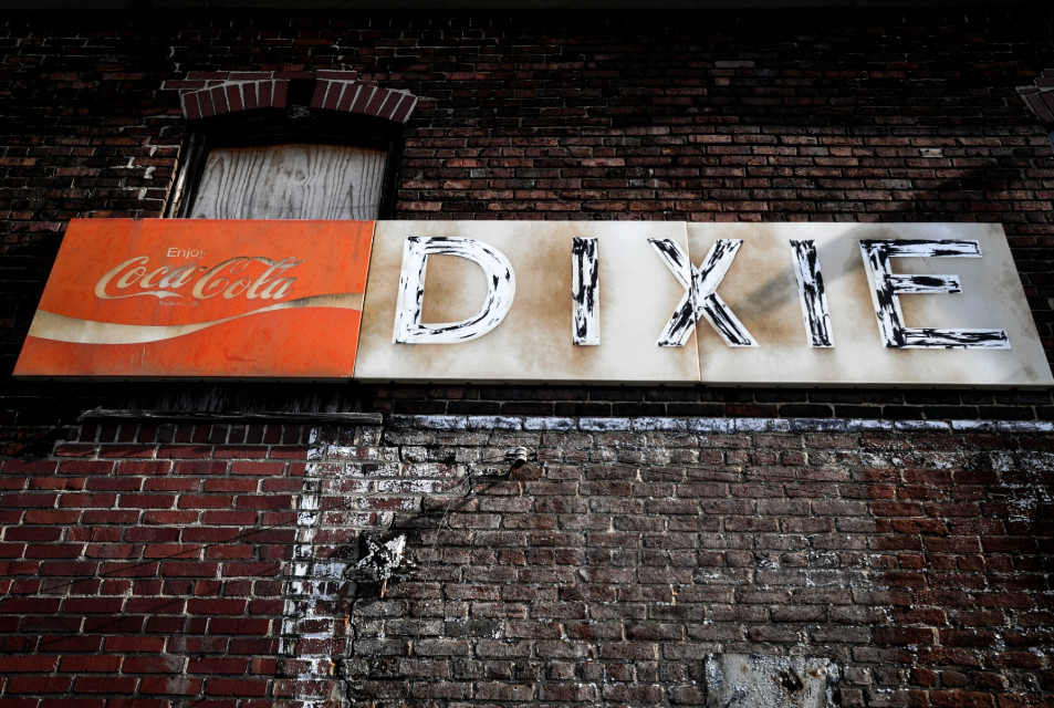 #cocacola #dixie #bricks #brickwall