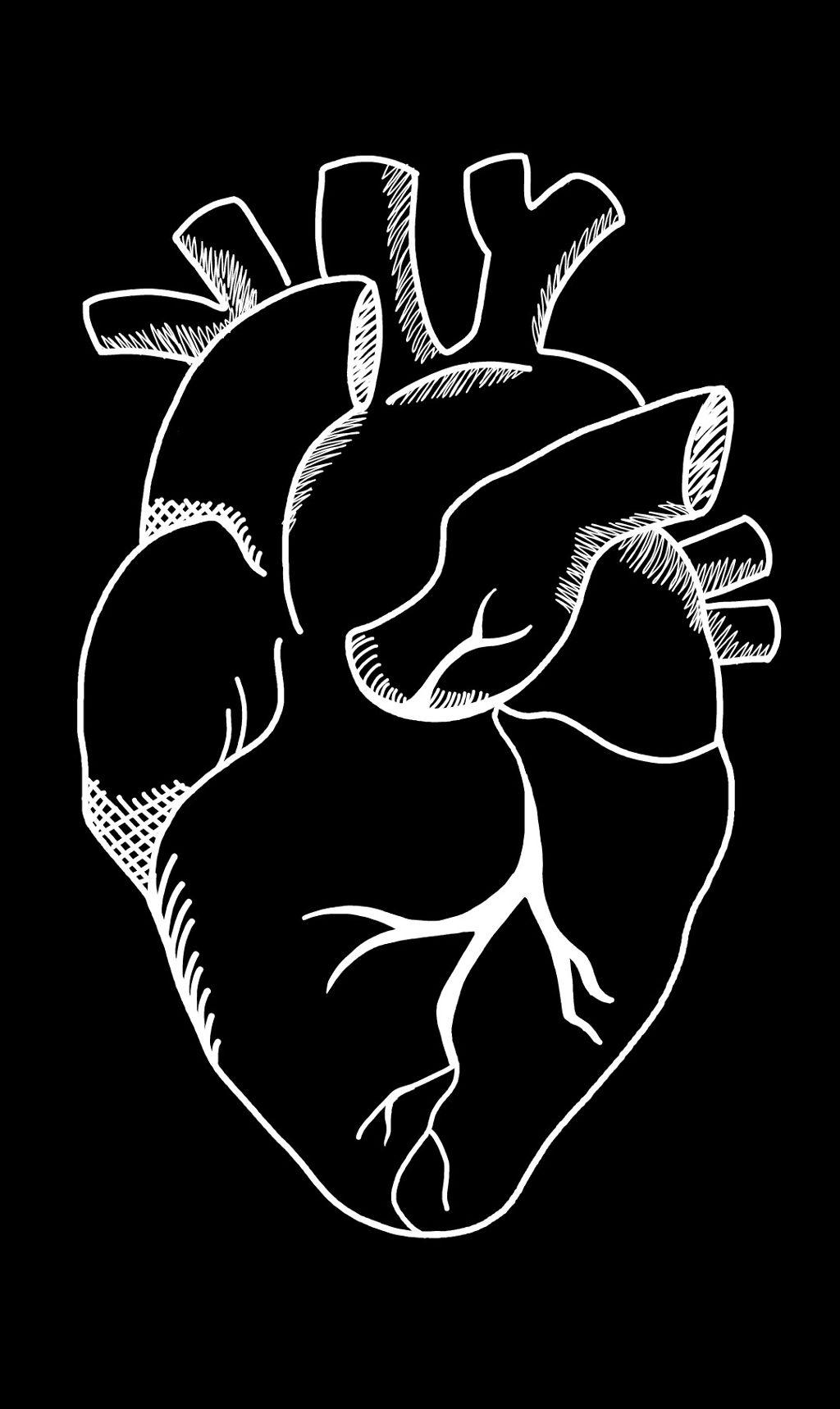 heart minimal simple simplistic minimism cute humanhear