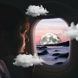 freetoedit airplanewindowremix