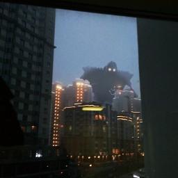 fog irongiant scary robot machine freetoedit