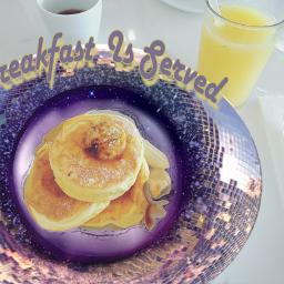 freetoedit stickeroftheday discoballstickerremix breakfast sunday