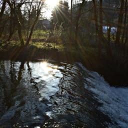 freetoedit sunset river sunday nikon