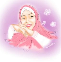 freetoedit hidjab muslimah