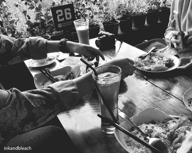 Daun Coklat Coban Rondo #inkandbleach #batucity #indonesia #mobilephotography