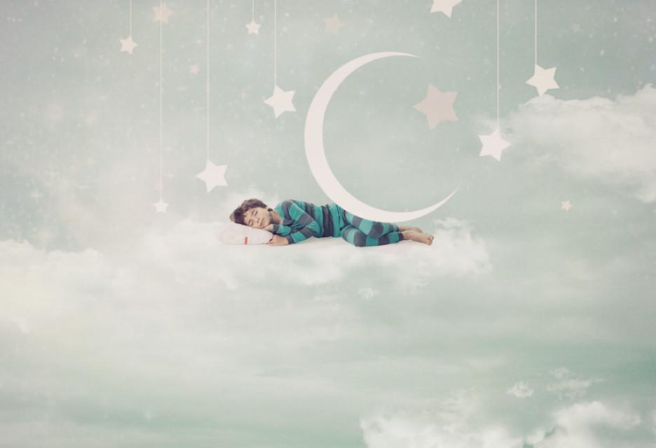 #sleeping #peaceful  Sweet dreams 🌟☁🌌🌛