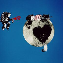 freetoedit moon dailyremix cuteaf