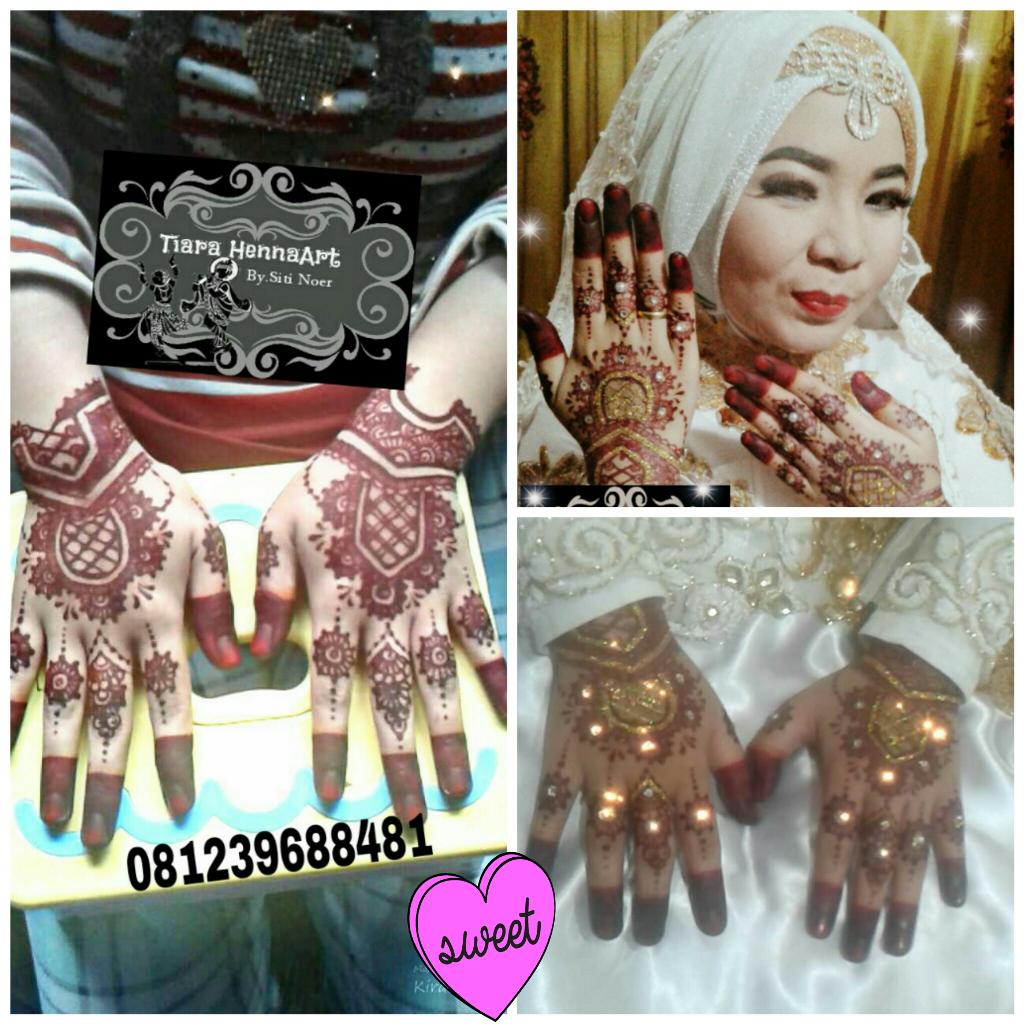 Wedding Mega😘😘 MUA by  @Ekasalon selumit jasa henna
