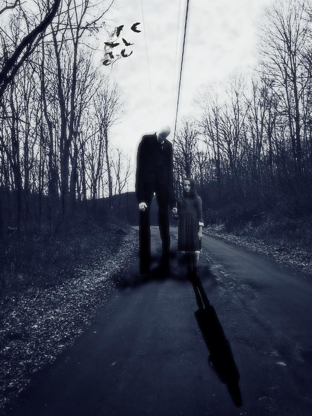 #horror #creepy #slanderman #forest #monster #killer #deep #crezy #insane